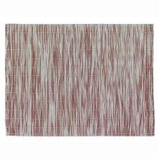 Set de table  en polyester lie de vin 33 x 45