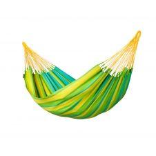 Hamac classique en tissu vert citron