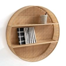 Étagère ronde en bambou, Hadga