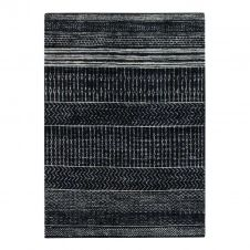 Tapis intérieur-extérieur vintage noir 120×170