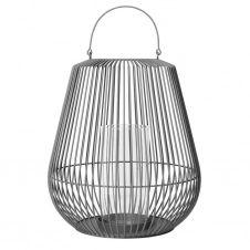Lanterne Nidea M 61,5 cm Steel gray (gris foncé)