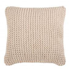 Coussin en coton écru 50×50