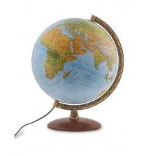 ASTRA – Globe terrestre, politique, lumineux, textes en français