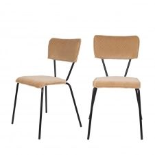 2 chaises beige