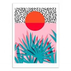 WHOA –  Affiche d'art 50 x 70 cm