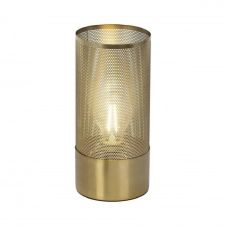 Lampe à poser métal perforé H27cm