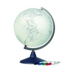 BLANK – Globe terrestre, cartographie muette