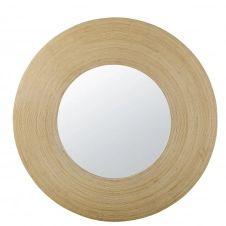 Miroir rond beige D101