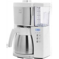 Cafetière programmable Melitta Look V Therm Timer 1025-17 Blanc/Acier