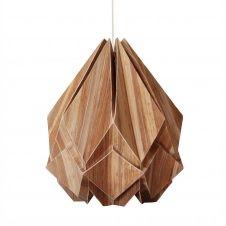 Suspension origami en ecowood et papier taille M
