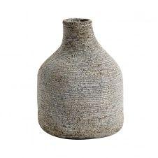 Vase Stain Petit Gris-marron