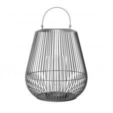 Lanterne Nidea S 52,5 cm Steel gray (gris foncé)