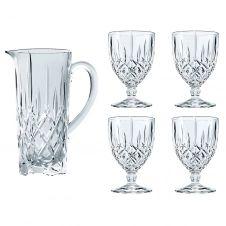 Set pichet et 4 verres Noblesse Transparent