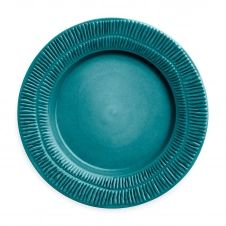 Assiette Stripes 28 cm Ocean