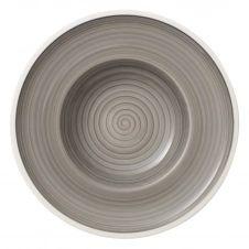 Assiette creuse Manufacture Gris 25 cm