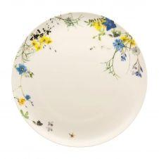 Assiette Brillance Fleurs des Alpes 27 cm Multi