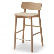 Chaise de bar Hven Chêne traité au savon