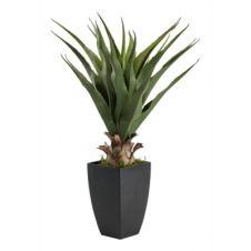 Plante artificielle H73 cm AGAVE Noir / Vert