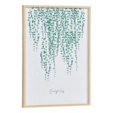 Image 50×70 cm EUCALYPTUS Blanc / Vert / Naturel