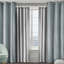 Lot de 2 rideaux thermiques isolants pour fenêtre