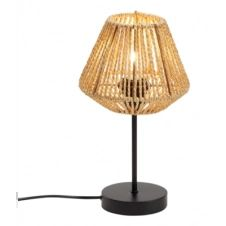 lampe droite naturel H. 34 cm JILY beige
