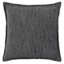 Housse de coussin gris anthracite 40×40