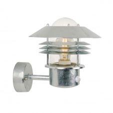 Applique d'extérieur avec détecteur métal H23cm