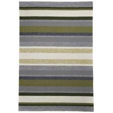 Tapis d'extérieur et intérieur très durable vert 70×140