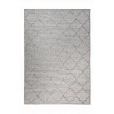 Tapis gris motif oriental beige pour entrée, extérieur  290×200