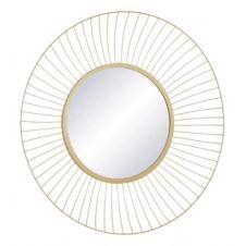 Miroir rond D70 cm KASTELI Doré