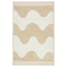 Serviette Lokki beige-blanc 30×50 cm