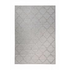 Tapis gris motif oriental beige pour entrée, extérieur  200×133