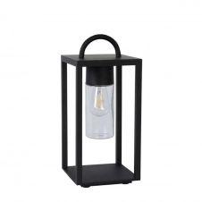 Lanterne d'extérieur métal et verre H45,5cm