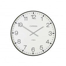 Horloge imprimée en métal noir D74