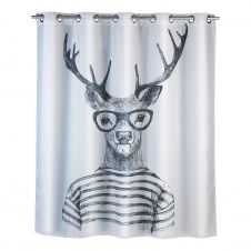 Rideau de douche Mr. Deer Flex