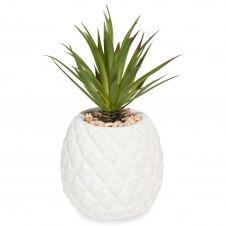 Ananas artificiel en pot