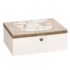 Boîte à bijoux écrue