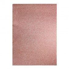Tapis effet tweed pour intérieur et extérieur rouge 160×230
