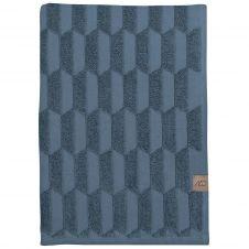 Serviette Geo 50×95 cm Slate blue