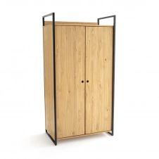 Module armoire 2 portes penderie HIBA