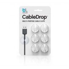 Range câble Bluelounge CableDrop blanc Pack de 6