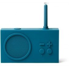 Radio analogique Lexon Tykho 3 BT/FM Bleu Canard