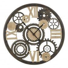 Horloge à rouages bicolore D101