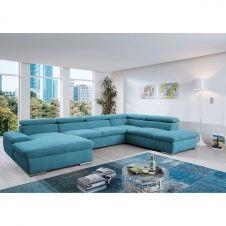 Canapé panoramique Glenaire I Bleu clair