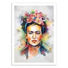 FRIDA KAHLO –  Affiche d'art 50 x 70 cm