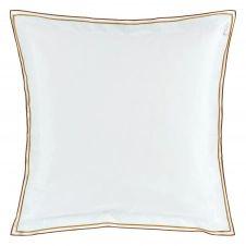 Taie d'oreiller bicolore unie en coton 64×64