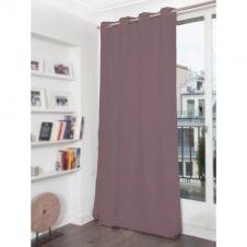 Rideau phonique thermique occultant gris 140×180