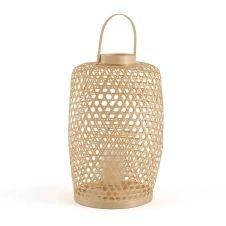 Lanterne en bambou H65 cm Lumi
