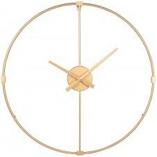 Horloge en métal doré D60