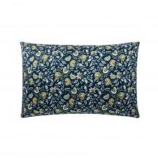 Taie d'oreiller bicolore en coton 50×75